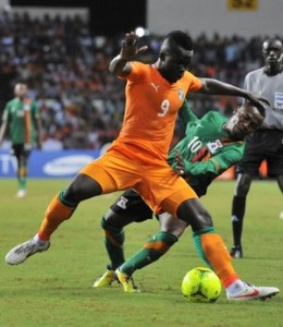 Ivory Coast's national football team str