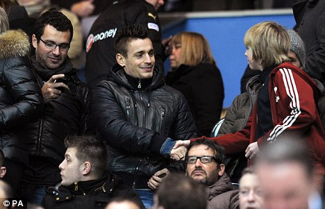 Mathieu Debuchy ar at james park