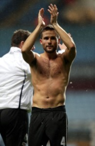 yohan cabaye after the Villa game