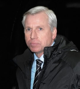 alan pardew in contemplative mood