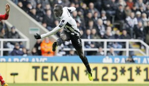 papiss cisse screamer against Saints