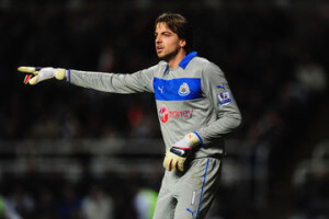 tim krul pointing