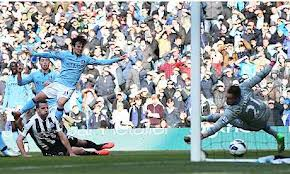 david silva scored second goal