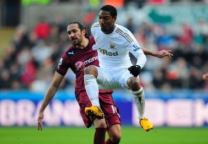 jonas gutierrez at swansea
