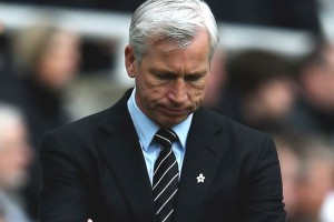 alan pardew dejected