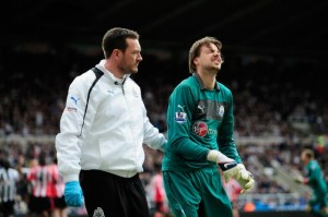 tim krul dislocated shoulder