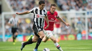 Ben Arfa Arsenal at home
