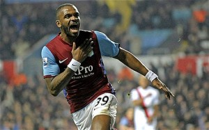 darren bent at Villa