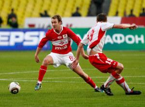 Aiden Mcgeady Spartak Moscow