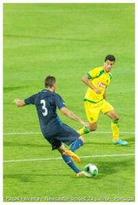 porto Davide Santon  -Jogo Paços Ferreira & Newcastle United 23 julho 2013 (97) (1)