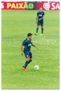 porto  Hatem Ben Arfa -Jogo Paços Ferreira & Newcastle United 23 julho 2013 (33) (1)