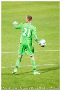 porto Robert Elliot -Jogo Paços Ferreira & Newcastle United 23 julho 2013 (1) (1)
