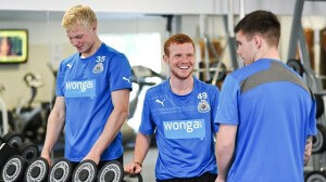 adam campbell - new training kit