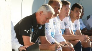 alan pardew taking notes pacos de ferreira