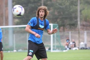 fabricio coloccini in training