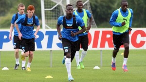 massadio haidara in training