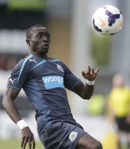 papiss cisse at st mirren