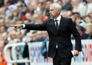 Alan Pardew at home