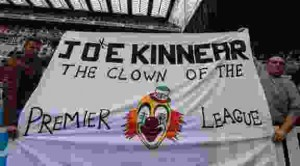 Joe Kinnear ckown