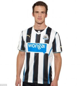 Newcastle's new home strip on Puma site