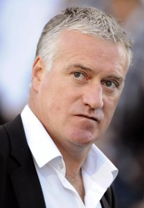 didier deschamps cllose-up