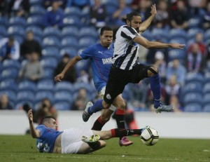 jonas gutierrez at Ibrox