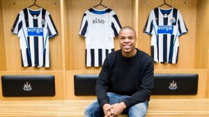 loic remy at newcastle  ytr