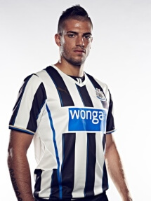 nufc new kit santon