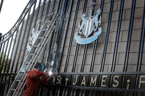st james' park gates 1