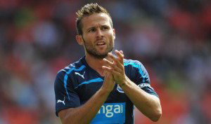 yohan cabaye in newcastle blue