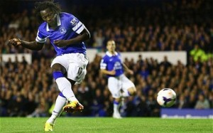 Romelu Lukaku scored first goal