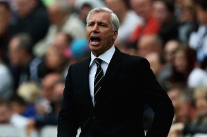 alan pardew in black suit