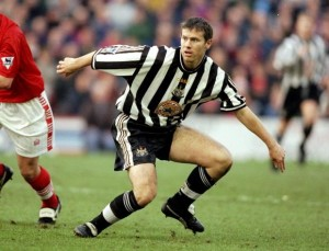 rob lee while at newcastle