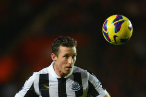 Mike Williamson heading ball