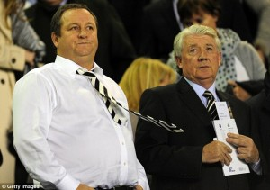 mike ashley joe kinnear