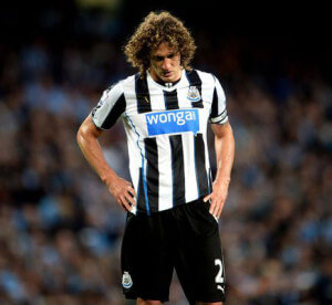 fabricio coloccini looking depressed