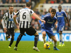 mike williamson chelsea Oscar 2-0 win