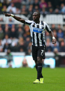 moussa sissoko pointing