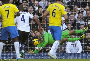 tim krul tottenham fabulous display