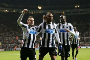 loic remy and players celbrate