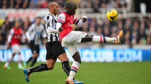 Soccer - Barclays Premier League - Newcastle United v Arsenal - St James' Park
