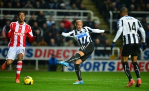 Soccer - Barclays Premier League - Newcastle United v Stoke City - St James' Park
