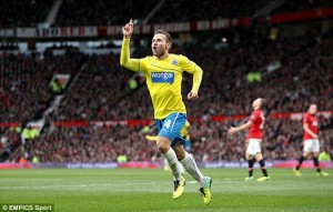 yohan cabaye winner against ManU