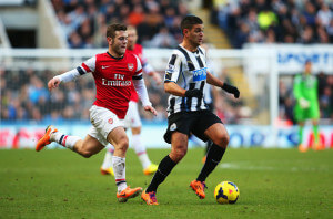 ben arfa arsenal at home 1-0