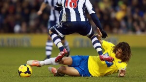 Soccer - Barclays Premier League - West Bromwich Albion v Newcastle United - The Hawthorns
