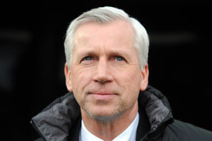 alan pardew close up half smiling