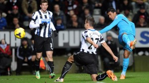 Soccer - Barclays Premier League - Newcastle United v Tottenham Hotspur - St James' Park