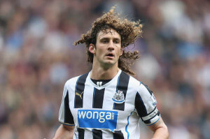 Fabricio Coloccini newcastle b&w