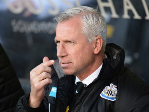 alan pardew clos-up