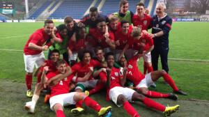 england u17 side win besat italy